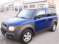 FUN TO DRIVE AND RELIABLE !! 2004 HONDA ELEMENT 4 WD