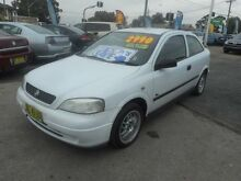 2001 Holden Astra TS City 4 Speed Automatic Hatchback Mount Lewis Bankstown Area Preview