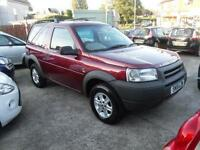 2001 (51) LAND ROVER FREELANDER 2.0 TD4 GS HARDBACK 3DR Manual