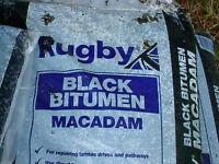 25kg bag Black Bitumen Macadam
