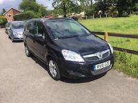 2010 Vauxhall Zafira 1,6 litre 5dr 7 seater