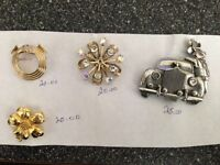 colectable brooches