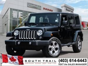 2016 Jeep Wrangler Unlimited Sahara - Hardtop, Touchscrn, +more