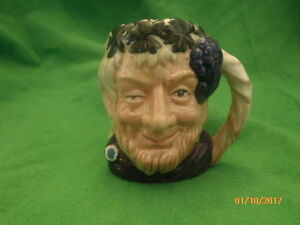 ROYAL DOULTON TOBY  JUG - BACCHUS D6251 Minature