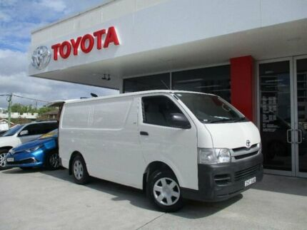 2010 Toyota Hiace TRH201R MY07 Upgrade LWB French Vanilla 4 Speed Automatic Van