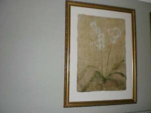 Floral Print in Gold Frame Cranbourne North Casey Area Preview