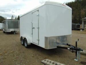 2019 Mirage 7 X 14 Cargo Trailer w. Extra Height and Rear Barn