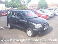 2007 (07 Reg) Hyundai Amica 1.1 CDX AUTOMATIC 5DR Hatchback BLACK + LOW MILES
