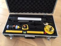 Laser Level spirit level, Tripod, Base, Chalk Line and Line Level