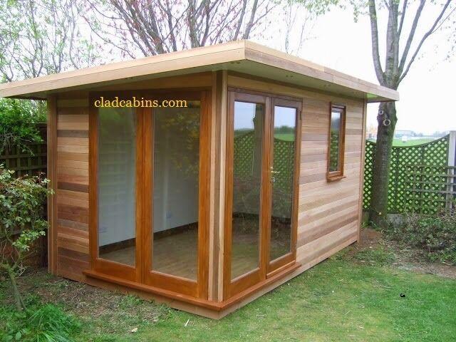 Joiner carpenter cabins playhouses garden rooms sheds log for Pinterest garden rooms