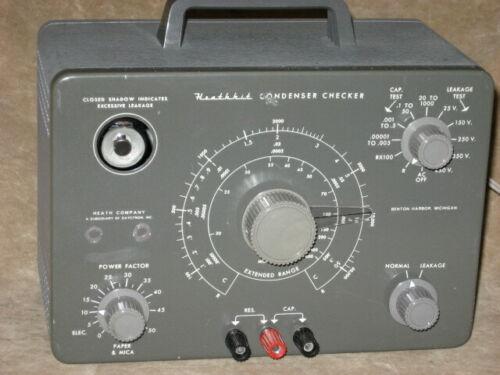 Heathkit C-3, restored