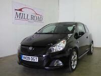 VAUXHALL CORSA 1.6 i Turbo 16v VXR 3dr ONLY 2 OWNERS (black) 2009