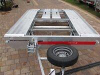 car transporter trailer tema 2700kg
