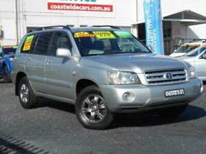 2004 Toyota Kluger MCU28R CVX (4x4) Silver 5 Speed Automatic Wagon Tuggerah Wyong Area Preview