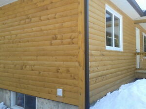 Log Cabin Siidng for Sale