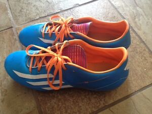 Adidas F10 Soccer Shoes - Size 8