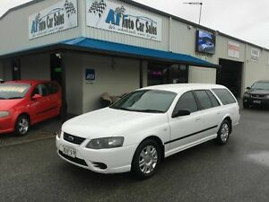 2006 Ford Falcon BF MkII XT (LPG) White 4 Speed Auto Seq Sportshift Wagon Port Adelaide Port Adelaide Area Preview