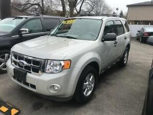 2009 Ford Escape XLT Certified $6995  LOW KMS 156,172