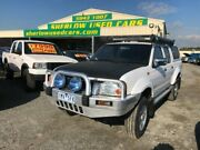 2005 Nissan Navara D22 ST-R (4x4) White 5 Speed Manual Dual Cab Pick-up Officer Cardinia Area Preview
