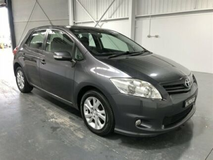 2011 Toyota Corolla ZRE152R MY11 Ascent Sport Grey 6 Speed Manual Hatchback Beresfield Newcastle Area Preview