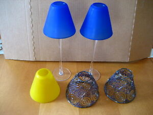Glass Candle Lamps
