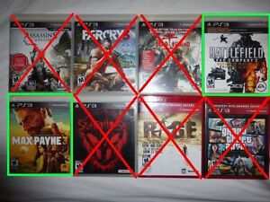 PS3 Max Payne 3 / Battlefield Bad Company