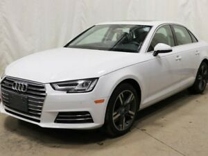 2017 Audi A4 2.0T Technik AWD quattro w/ Navigation, Leather, S