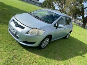 2007 Toyota Corolla ZRE152R Ascent Silver 4 Speed Automatic Hatchback Dandenong Greater Dandenong Preview