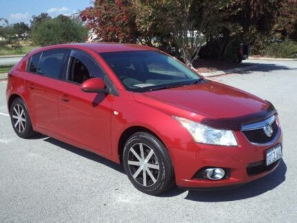 2011 Holden Cruze JH MY12 CD Red 5 Speed Manual Hatchback Maddington Gosnells Area Preview