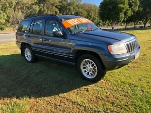 2003 Jeep Grand Cherokee WG Limited (4x4) 4 Speed Automatic 4x4 Wagon Clontarf Redcliffe Area Preview