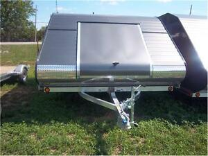 TRITON XT11 CLAMSHELL ENCLOSED SNOWMOBILE TRAILER!