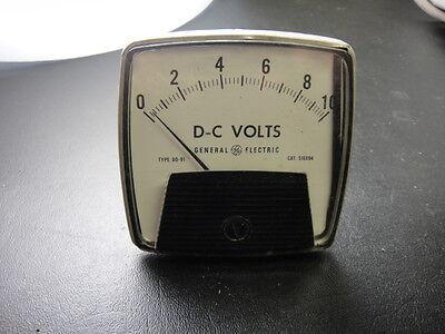 Vintage General Electric Dc Volt Meter