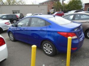 2011 HYUNDAI ACCENT 126000KM, AIR, GR,ELECT $4995