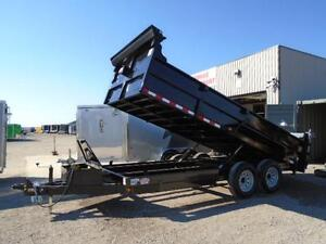 16FT HEAVY DUTY 7 TON DUMP TRAILER - SAVE MONEY WITH ACTION! London Ontario image 2