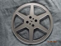"15"" metal fim reel for 16mm film or as wall decoration'"