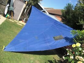 Blue Genoa foresail (used)