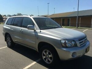 2004 Toyota Kluger MCU28R CVX (4x4) Silver 5 Speed Automatic Wagon Revesby Bankstown Area Preview