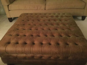 HUGE Brand New Ottoman Used For Staging Cost over$1000