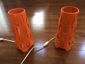 Perfect pair of desk/side table lamps - both for only $10.00!