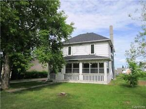 Character home close to downtown, lake and school in Shoal Lake!