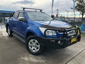 2012 Holden Colorado RG MY13 LTZ Space Cab Blue 5 Speed Manual Utility