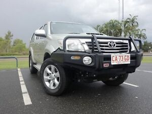 2012 Toyota Hilux KUN26R MY12 SR5 Double Cab Sterling Silver 4 Speed Automatic Dual Cab Gunn Palmerston Area Preview