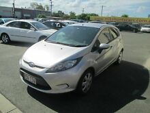 2010 Ford Fiesta WS CL Silver 4 Speed Automatic Hatchback Coopers Plains Brisbane South West Preview