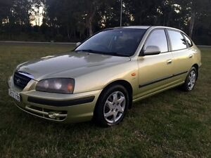 2004 Hyundai Elantra XD 2.0 HVT Green 4 Speed Automatic Hatchback Warilla Shellharbour Area Preview