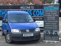 2009 09 VOLKSWAGEN CADDY 2.0 C20 PLUS SDI 6D 68 BHP PANEL VAN DIESEL