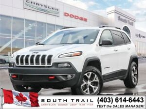 '18 Jeep Cherokee Trailhawk V6 3.6 Fully loaded leathr  $239 B/W