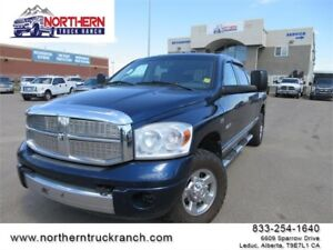 2008 Dodge Ram 1500 4X4 LARAMIE MEGACAB LOADED