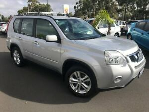 2012 Nissan X-Trail T31 Series IV ST 2WD Silver 1 Speed Constant Variable Wagon East Bunbury Bunbury Area Preview