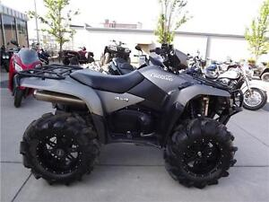 KINGQUAD 750AXI POWER STEERING SPECIAL EDITION MATTE BLACK