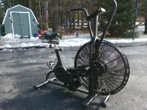The best exercise bike available today, Air Assualt.